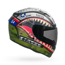 Bell Qualifier Dlx Size Chart Bell Qualifier Dlx Devil May Care Motorcycle Helmet Green