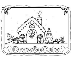 Gingerbread Coloring Pages Coloring Pages