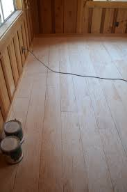How to create beautiful plank flooring out of plywood after how to create  beautiful plank flooring