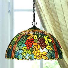 tiffany style ceiling fan light kits lamps lamp shades kitchen lighting re g pendant dinning bedroom