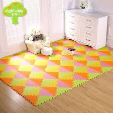 soft floor tiles baby triangle foam toy puzzle play mat interlocking game exercise gym tile foam floor tiles babies