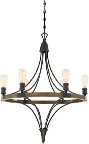 savoy house 1 9111 6 68 turing whiskey wood chandelier lamp loading zoom