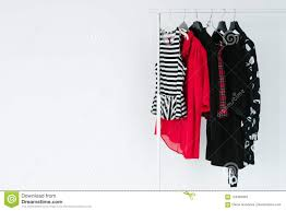 Selection Fashion Design Contest Fashion Industry Clothes Design Apparel Collection Stock