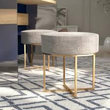 wayfair vanity chair beige vanity stools youll love wayfair hermidale vanity stool bathroom vanity chairs stools