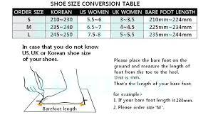 Korean Shoe Size Sizes To Us James Karantonis