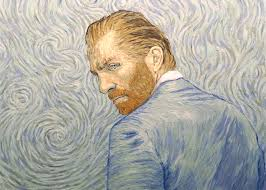 hand painted animates vincent van gogh s life in the style of his paintings