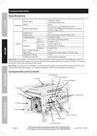 predator generator wiring diagram predator specifications components and controls harbor freight tools on predator generator 8750 wiring diagram