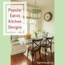 popular eat in kitchen designs 2