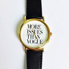 Watch Quotes Impressive More Issues Than Vogue Watch Vintage Style Leather Watch Women
