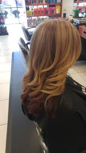 Pretty Light Brown With Blonde Highlights