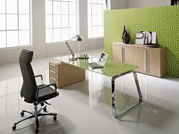 glass top office furniture. Green Glass Top Office Desk Furniture Ideas