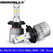 directly from china headlight bulb suppliers partol cob led headlight hi lo beam car led headlights bulb head lamp fog light auto accessories parts