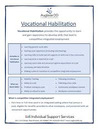 List Of Skills For Employment Vocational Habilitation Auglaize County Board Of Dd