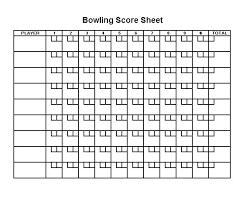 Bowling Spreadsheets Scoreboard Excel Template Balanced Scorecard Excel Template