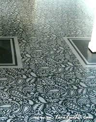 post of floor cement tile stencils floor tiles painted diy stencil on h