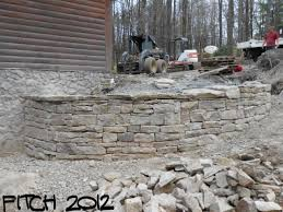 retaining walls lucas landscaping turf farm dry stacked stone