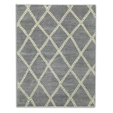 diamond hand knotted rug