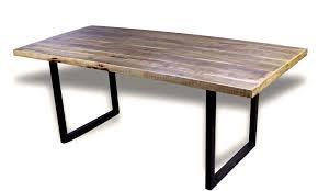 Esstisch Patinierte Holz Mango Stil Industriedachboden