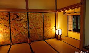 Japanese traditional house, Kobuntei maple room