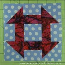 Churn Dash Quilt Block Tutorial - 3