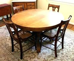 antique round oak dining table oak round dining table antique claw round dining tables with leaf