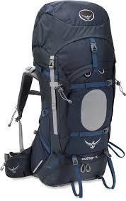 Blue Osprey Aether 70 Pack Osprey Aether Osprey Backpacks