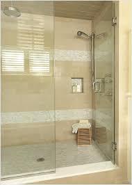 after shower w river rock walls doors rain glass door x