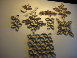 wall decoration with paper beautiful these are toilet paper roll wall art that me and my