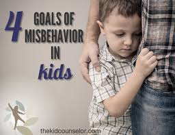 Four Goals Of Misbehavior In Kids The Kid Counselor