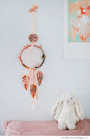 Dream Catcher Without Feathers TUTORIAL Make a dream catcher with Hama bead feathers We Are 42