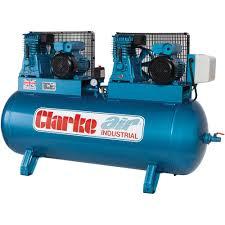 compresor industrial. clarke xe29/270 industrial air compressor (230v) compresor
