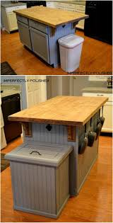 Decorative Kitchen Trash Cans 25 Best Ideas About Trash Can Cabinet On Pinterest Cabinet