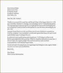 Sample Thank You Letter After Interview Fair 5 Sample Email Thank