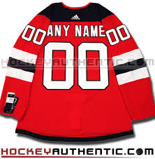 Any Jersey And Name Pro Adidas Devils - Authentic New Roster Number Nhl 2017-18