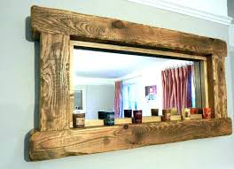 wood framed mirrors. Wall Mirrors Large Wood Framed Mirror White Barn For Sale Reclaimed . Wooden