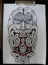 славянские и скандинавские татуировки эскизы идеи эскизы