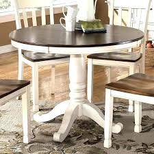 round cottage dining table beach style