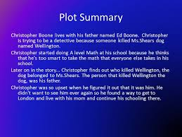 the curious incident of the dog in the night time ppt video  plot summary