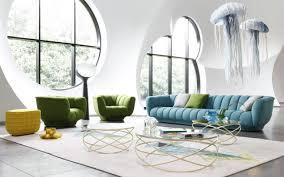Herunterladen Hintergrundbild Stilvolle Wohnzimmer Interieur