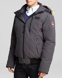 ... canada goose borden bomber black mens ...