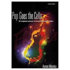 Aaron Minsky: Pop Goes the Cello. Just Flutes, London