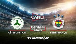 Giresunspor Fenerbahçe maçı canlı izle! D Smart Giresun FB maçı canlı skor  takip! - Tüm Spor Haber