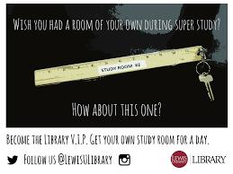 lindsay harmon lewis university library newsletter super study contest external promo spring 2016