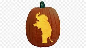 Elephant Pumpkin Carving Pattern Best Jacko'lantern Pumpkin Carving Stencil Pattern Elephant Motif Png