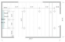 how many recessed lights in a room recessed lighting layout opinions electrical on how to install