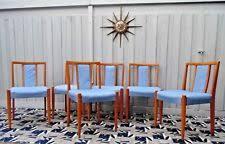 teak retro furniture. Retro Mid Century AVALON Furniture [6] Danish Teak Dining Chairs Restored