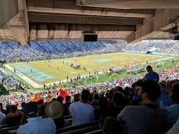 Keenan Stadium Seating Chart Photos At Kenan Memorial Stadium