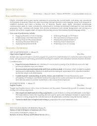 Education Resume Samples Qhtypm Teacher Examples Doc Cover Letter