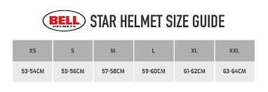 Shoei Nxr Size Chart Buy Bell Star Motorcycle Helmet Demon Tweeks