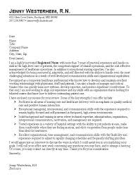 sample cover letter for nurses